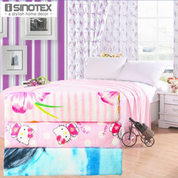 Wholesale Towel Blanket Pure Cotton x200cm Bedding Cover Velour Towelling Coverlet For Bedroom Plain Dyed Print