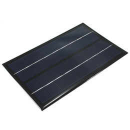 Wholesale Hot Sale V W Monocrystalline Silicon poly Epoxy solar Panel small solar cell PV module for charging cellphone and DC battery