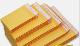 Kraft enveloppe jaune à vendre-Grains de café 1er jaunes sac bulle de diffusion kraft 7x10cm enveloppent 90 * 130 mm bijoux zip plastique imprimé 6 gratuit Les Livraison-