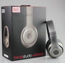 Wholesale Studio Wireless Headphone Refurbished Bluetooth Headset Noise Cancel Headphones Headset with seal retail box Studio Headphones