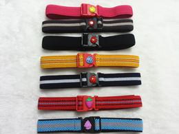Children cute multicolor elastic waistband belt neutral belt