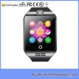 Wholesale Alibaba cheap Stainless steel wire Surface MTK6260A quot inch TFT high definition LCD Bluetooth smart watch with NFC function