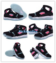 Wholesale Air Flight Huarache PRM QS Premium South Beach Black Light Retro Pink Pow White Men s Trainers Sports Running Shoes