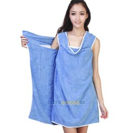 Wholesale LS4G New Hot Sale Comfortable cm x86cm Wearable Absorbent Fast Drying Microfiber Bath Beach Towels Sheet