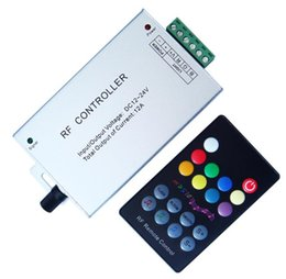 Wholesale RF Controller RF RGB LED Controller Audio Music LED Controller Key