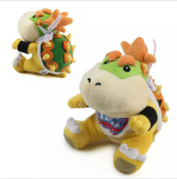 """Free Shipping Super Mario Brothers Plush Bowser Jr. Soft Stuffed Plush Toy Brand New With Tag 7"""""""