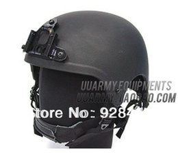 Wholesale Tactics SEAL Team IBH Helmet Black for airsoft paintball outdoor games