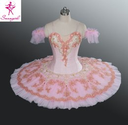 2015 New Arrival Adult Dance Pink Tutu Ballet Professional For Sale Girls Costume Classical Ballet Tutus Child Size Tutu AT1166