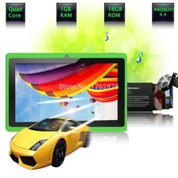 Wholesale inch tablet pc wifi bluetooth OTG USB GB GB Dual camera support Google market ANDROID4 Suitable for gift G G Tab pc