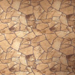 Fond d'écran d'ardoise en Ligne-rouleau de 10M naturel papier peint vintage de mur de briques pierre roche ardoise mur effet de fond décoration murale papier pvc vinyle classique W162