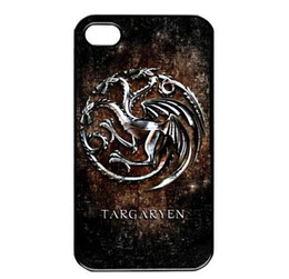 Wholesale Thrones Luxury Black Hard Plastic Mobile Protective Phone Case Cover For Iphone 4 4S 5 5S 5C