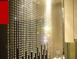 Crystal Prism Beading Hanging Ornament Crystal Octagonal Bead Curtain Garland Strands DIY Craft Party Wedding Decoration 10m Lot
