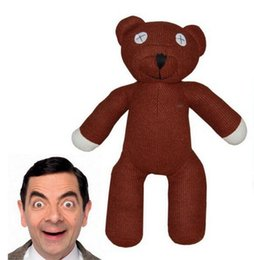 Les brunes en Ligne-Enfants cadeau brun kawaii 9inch 23cm Mr Bean ours en peluche peluche jouet en peluche Livraison gratuite