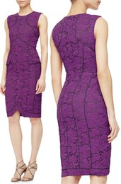 Luxury Women Lace Sheath Dress Fashion Appliques Sleeveless Dresses 15101553