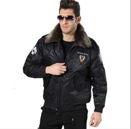 Wholesale Fall new Free rider outdoor thermal air force flight warm jacket collars thickening clip cotton men s cotton jacket coat