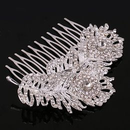 Wholesale New Fashion Wedding Hair Accessories Hot Sales Bridal Jewelry Stores Lovely Combs With Alloy Rhinestone For Women Girls Gift Ideas