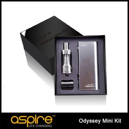 Aspire pegasus en Línea-Aspire Odyssey Mini Kit original Con 50W TC Aspire Pegasus Mini Mod y 2 ml de Triton Aspire Mini E Cig Kit libre de DHL