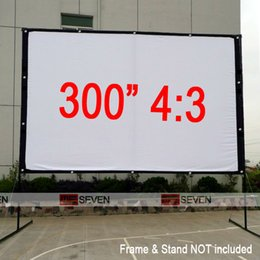 Wholesale quot Factory Whalesale High Quality Best Price Outdoor Projection Screen for Any Movie Projectors Pantallas de Proyeccion