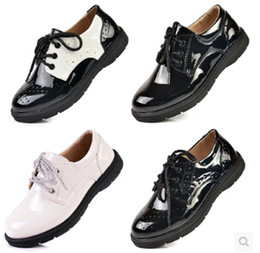 Wholesale-Free shipping!The new 2015 boys shoes children's shoes, dress shoes casual shoes black and white
