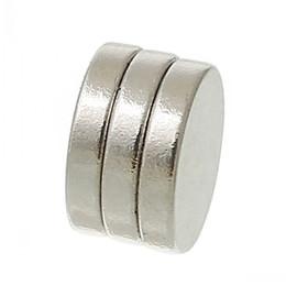 Beijia Super Strong néodyme Aimants disques ton argent 10mm Dia, 50PCS à partir de aimant néodyme forte fabricateur