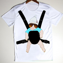 Wholesale w1215 The Hangover Baby Bjorn Posters Funny Tee Shirt Men Boys Novelty Print Male Short Sleeve Top Fitness Camisa