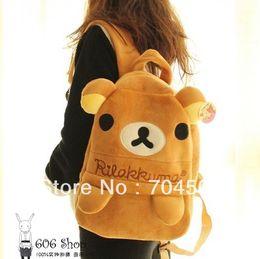 Wholesale KT226 Rilakkuma San X Relax Bear Car Cartoon Backpack Bag quot X quot Cute Gift