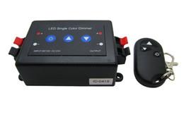 Led Single Color Dimmer DC 12-24V Black + Adopt Button Control For Led Strip Light Lamp DIY