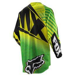 Wholesale-NEW motocross Jerseys Dirt bike cycling bicycle MTB downhill shirts motorcycle t shirt Racing Jersey,yellow