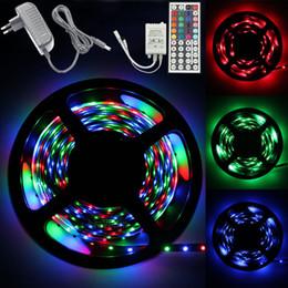 Wholesale Best Selling RGB RGB M Leds Led light Strip sets Color changing Waterproof Keys IR Remote Controller