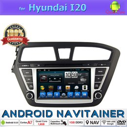2 Din Car Dvd In Car Video Quad Core for Hyundai I20 GPS BT phonebook iPod SWC Touch Screen Android System