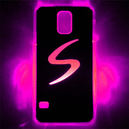 LED Phone Cases LED Cell Phone Cover for Samung galaxy S5 LED Lighted Cases 7 colors LED Cases LED Cell Phone Accessories Flash Phone Cases