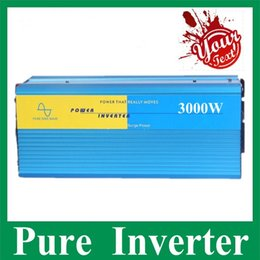 Wholesale 3000w Solar Power inverter Max w V V DC to V v v V V AC Pure sine wave wind solar generator inverter