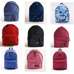 Wholesale 2016 eastpack backpack school book bag eastpak women men travel hiking laptop backpacks