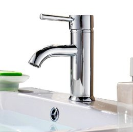 Wholesale Bathroom faucet hot and cold tap mixer brass construction with a pair of quot water supply hose chrome finished C3045