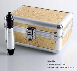 Wholesale Electric Derma Pen Derma Auto Pen Stamp Micro Needle Roller Anti Aging Skin Therapy Wand Electric derma pen