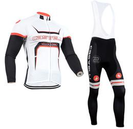 Wholesale-2015 new men long sleeve cycling jersey bike bib pants sets MTB team ride shirt cycle kits
