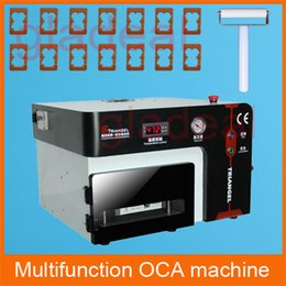 Wholesale Vacuum OCA Laminating Machine Autoclave Bubble Remover Debubbler for LCD Touch Screen Displays Panel Separator Repair Tool Kit
