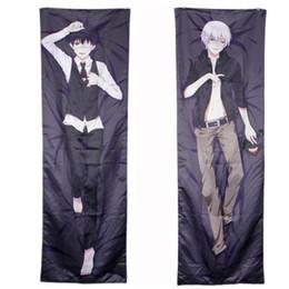 Wholesale-Anime Tokyo Ghoul Ken Kaneki Dakimakura Hugging Cotton Pillow Cover Case 150*50