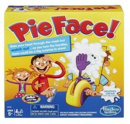 Wholesale European and American version of cream pie hit man hit machine Pie Face ran the whole people face machine strange new toy paternity