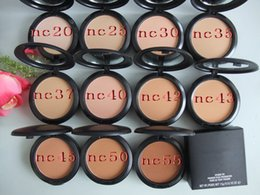 Wholesale good quality NEW MAKEUP MINERALIZE SKINFINISH POUDRE DE FINITION foundation face powder fix powder NC