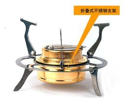 Wholesale Outdoor portable alcohol stove with a ring leak proof models