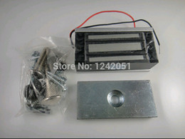 Wholesale Access Control Single Door V Electric Magnetic Electromagnetic Lock KG Holding Force