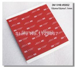 Wholesale sheet M Heavy Duty Mounting VHB Tape Black Acrylic Foam Double Sided Adhesive Tape cmx10cmx1 mm