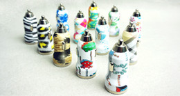 Wholesale Mini Bullet Dual USB Car Charger Adaptor For Cellphone w Beautiful Pattern Simultaneously Charge Mobile