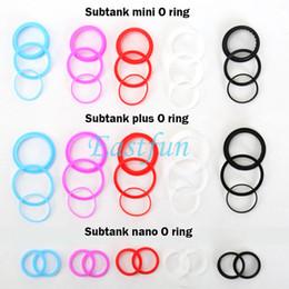 100% Original Kanger Silicon O Rings Seal Ring Set Subtank ORing Fit Subtank Mini Subtank Nano Sub Tank Plus Clearomizer Orings Kit Vape