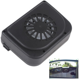 Wholesale Compact High Quality Solar Powered Energy Auto Cooling Air Vent Fan for Keeping Fresh Air CEC_673
