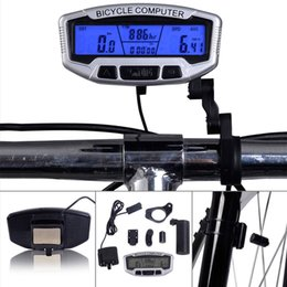 Wholesale cheapest price Digital LCD Backlight Bicycle Computer Odometer Bike Speedometer CYC_360