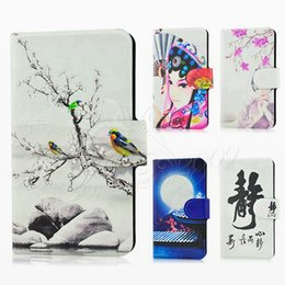Wholesale Individuality Popular Ancient costume Chinese style Bird Flower Grass Back girl Lovely Lovely cover case for Amazon Fire Phone