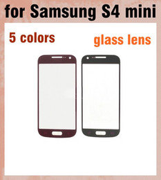 Outer Glass Screen Lens Touch Screen LCD Cover Front Glass Screen Lens Replacement digitizer For Samsung Galaxy S4 Mini i9190 S5 SNP013