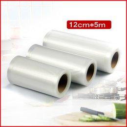 Wholesale 5pcs cm cm micron Clear Shopping Vacuum Roll Film Plastic Packaging Bags
